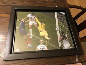 Abby Wambach Signed Framed 16x20 PSA AA77931