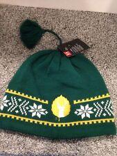 NWT UNDER ARMOUR ColdGear DEER BUCK Merino Wool Beanie Cap Hat GREEN/YELLOW