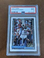 1992-93 Topps Shaquille O'Neal Rookie Card RC #362 PSA 9 Mint Shaq HOF