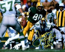 Packers JAMES LOFTON Signed 8x10 AUTO Action Photo #2  w/ HOF '03