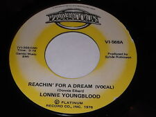 Lonnie Youngblood: Reachin' For A Dream / (Instrumental) 45
