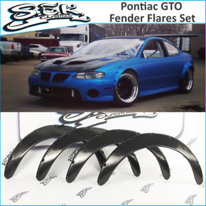 Pontiac GTO Fender Flares Set ,Pontiac GTO 2002-2006 Wheel Arches Wide Body 3.5""