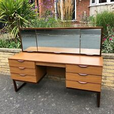 More details for  mid-century europa dressing table/desk 1970s danish style – vintage mcm