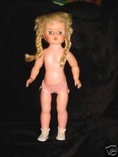 Vintage 1953 50s  Eegee's Susan Stroller Doll ? Braids