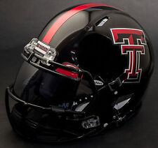 *CUSTOM* TEXAS TECH RED RAIDERS Riddell SPEED Full Size Replica Football Helmet