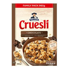 Quaker - Cruesli chocolate - 965gr