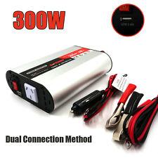 Power Inverter 12V-240V 300W(600 Max) Certified Camping Boat Caravan USB charger