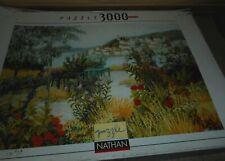 Puzzle 3000 pièces NATHAN  ( paysage )