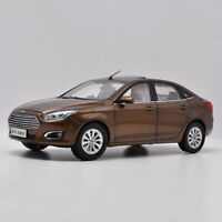 1/18 Scale Ford ESCORT 2017 Brown Diecast Car Model Collection Toy Gift