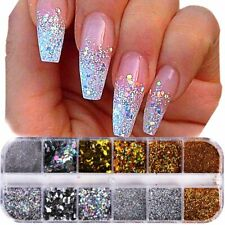 Glitter Nail 1Case New Accessory Powder Dust Sequin Art For Manicure Decoration