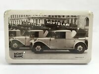 Montblanc Motive of the Twenties Collectible Tin Box Extremely Rare Collectible