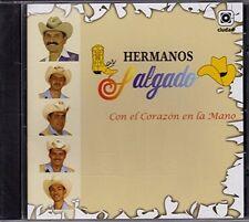 LOS HERMANOS SALGADO - CON EL CORAZON EN LA MANO (BRAND NEW CD)
