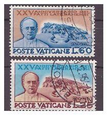 VATICANO - 1954 -  PATTI LATERANENSI   SERIE  USATA