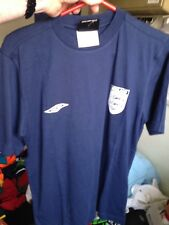ENGLAND T SHIRT  small  OR x/l  INCH BNWL AT £5 UMBRO  COTTON BLUE