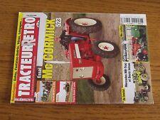 $$$ Revue Tracteur Retro N°37 Mc Cormick 523Gregoire-BessonMercedes MB-Trac