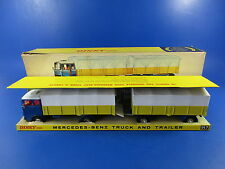 DINKY 917 MERCEDES BENZ TRUCK & TRAILER, 1st ISSUE, RARE, VNMB!