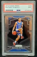 2019 Panini Prizm RC 76ers MATISSE THYBULLE Rookie Basketball Card PSA 9 MINT