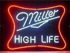 "New Miller Lite High Life Neon Sign Beer Bar Pub Gift Light 17""x14"""