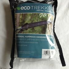 Eco Trekker Hammock Hanging System with Straps & Carabiners