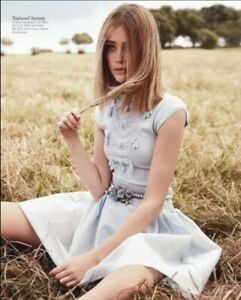 Chanel Vintage Light Blue Knitwear Suit Skirt And Top