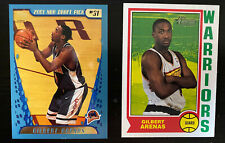 New listing 2001-02 Topps/Heritage #249 #187 Gilbert Arenas 2-Card Lot Rookie RC Warriors