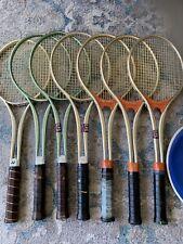 YoneYama & Yonex Metal Tennis Rackets 7 With 4 Covers Lot 70's