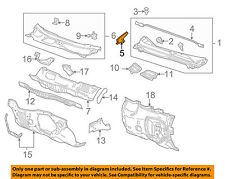 Chevrolet GM OEM 10-16 Equinox Cowl-Side Extension Left 20897363