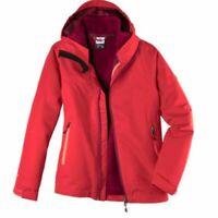 McKinley Mädchen Outdoor Freizeit 3in1 Jacke Doppeljacke JUSTIN rot