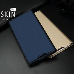 For Samsung Galaxy S10 S9 S8 Plus A9/7 Magnetic Wallet Card Slot Flip Case Cover