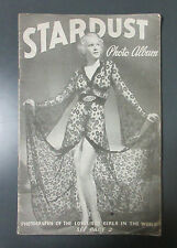 RARE 1938 STARDUST PHOTO NY ADULT GENTLEMAN MAGAZINE PIN-UP RISQUE FLAPPER GIRL