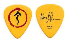 Rush Alex Lifeson Signature Yellow Guitar Pick - 2007 Snakes & Arrows Tour