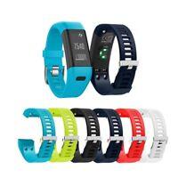 For Garmin Vivosmart HR+ Plus Strap Silicone Sports Fitness Wrist Band