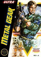 "Nintendo Nes Metal Gear Box Art 2.5"" X 3.5"" Fridge Magnet #1"