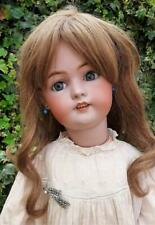 Large Antique Simon Halbig 1078 Fine Bisque Head Character Child Doll  30""