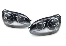 Headlights Pair For Volkswagen Golf Mk5 2004-2009