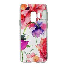 Para Samsung Galaxy S9 Funda de Silicona Flor Patrón Floral - S5256