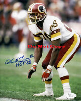 Darrell Green HOF 08 Signed Redskins autographed 8x10 photo RP