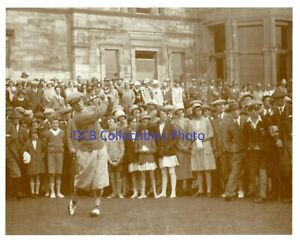 8 x 10 Glossy Photo Bobby Jones 1936 St. Andrews American Heritage Galleries