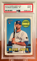 2018 Topps Heritage High Number Lourdes Gurriel Jr #684 Rookie RC PSA 9 MINT