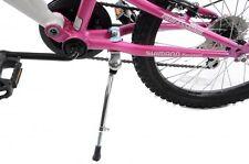 "Ammaco 16""-20"" Wheel Kids Bike Adjustable Propstand Kickstand Stand Alloy Silver"