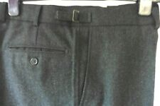 M&S AUTOGRAPH CHAROCAL WOOL BLEND SMART TROUSERS SIZE 36 X 34 EXCELLENT R90