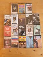 audio music cassette tapes bundle joblot x 18 as pictured mct17