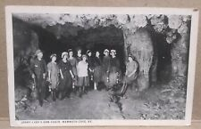 VINTAGE JENNY LIND'S ARM CHAIR, MAMMOTH CAVE, KENTUCKY POSTCARD