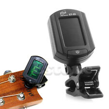 LCD Automatic Mini Clip On Tuner Digital Electronic Tuning For Acoustic Guitar