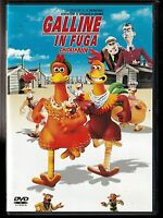GALLINE IN FUGA (2000) di Nick Park, Peter Lord - DVD EX NOLEGGIO - DREAMWORKS
