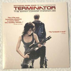 RARE 2008 TERMINATOR THE SARAH CONNOR CHRONICLES EMMY FYC DVD PROMO Lena Headey
