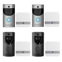 Ring Video Doorbell Video Türklingel Funkklingel HD WLAN Nachtsicht + Empfä SL#