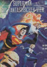 DC - Comic - Superman - Fantastischen Vier - HC von 1999 - Dino Verlag deutsch