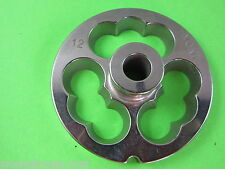 12 Kidney Plate Disc Sausage Stuffing Stuffer For Most Electric Meat Grinders