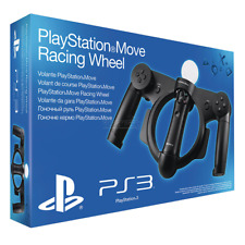 Official Sony PlayStation 3 Move Racing Steering Wheel (PS3) Boxed